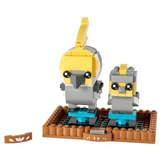LEGO 40481 - LEGO Brickheadz - Nimfapapagáj