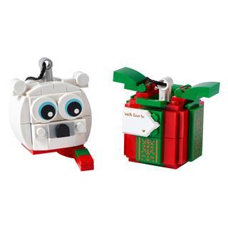 LEGO 40494 - LEGO - Jegesmedve és ajándékcsomag