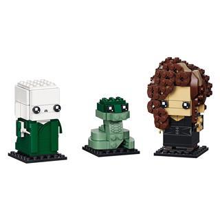 LEGO 40496 - LEGO Brickheadz - Voldemort™, Nagini és Bellatrix