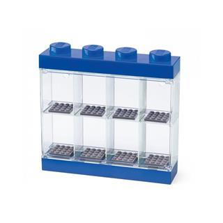 LEGO 40650005 - LEGO tároló - Minifigura  8 db kék