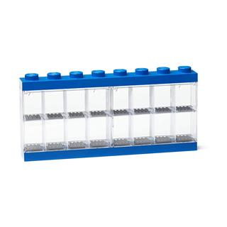 LEGO 40660005 - LEGO tároló - Minifigura  16 db kék