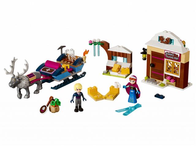 LEGO 41066 - LEGO Disney - Anna és Kristoff szánkós kalandja