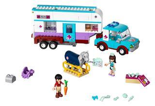 LEGO 41125 - LEGO Friends - Állatorvosi lószállító