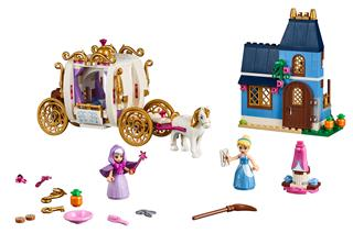 LEGO 41146 - LEGO Disney - Hamupipőke varázslatos estélye
