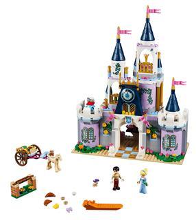 LEGO 41154 - LEGO Disney - Hamupipőke álomkastélya