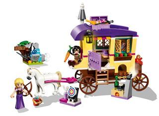 LEGO 41157 - LEGO Disney - Aranyhaj utazó lakókocsija