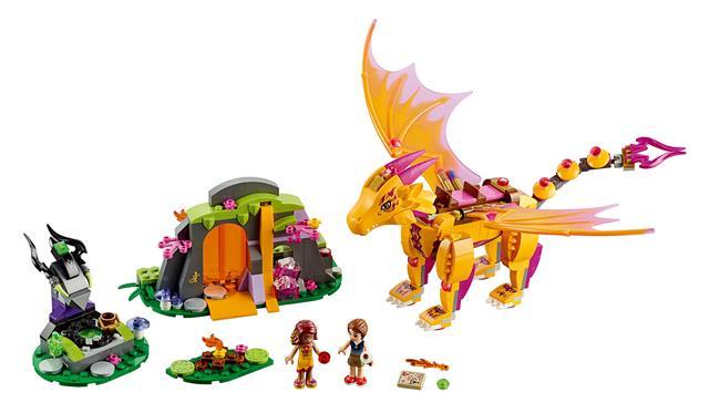 LEGO 41175 - LEGO Elves - A tűzsárkány lávabarlangja