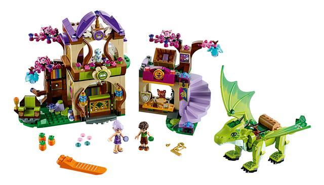 LEGO 41176 - LEGO Elves - A titkos piactér