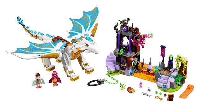 LEGO 41179 - LEGO Elves - A sárkánykirálynő megmentése