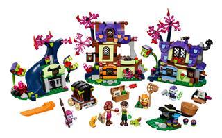 LEGO 41185 - LEGO Elves - Varázslatos menekülés manófalváról
