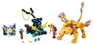 LEGO 41192 - LEGO Elves - Azari és a tűzoroszlán elfogása