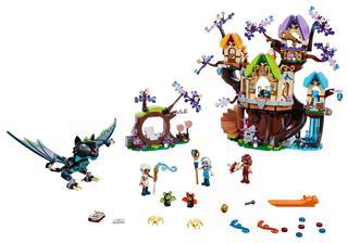 LEGO 41196 - LEGO Elves - Denevértámadás az Elvenstar fa ellen