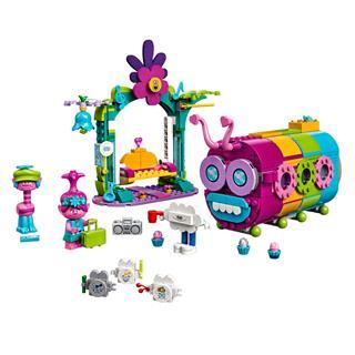 LEGO 41256 - LEGO Trolls - Szivárvány étkezőbusz