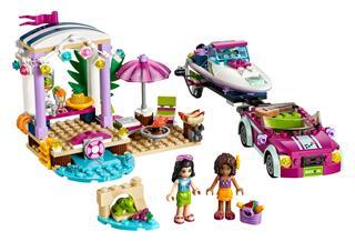 LEGO 41316 - LEGO Friends - Andrea versenymotorcsónak szállítója