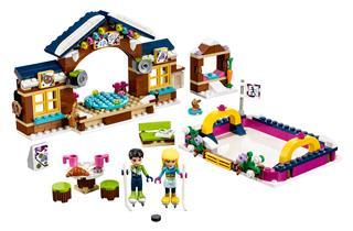 LEGO 41322 - LEGO Friends - Jégpálya a havas üdülőhelyen