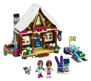 LEGO 41323 - LEGO Friends - Faház a havas üdülőhelyen