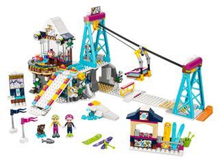 LEGO 41324 - LEGO Friends - Sífelvonó a havas üdülőhelyen