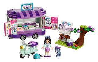 LEGO 41332 - LEGO Friends - Emma festőállványa