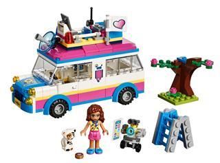 LEGO 41333 - LEGO Friends - Olivia különleges járműve