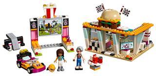 LEGO 41349 - LEGO Friends - Heartlake autósmozi és gyorsétterem