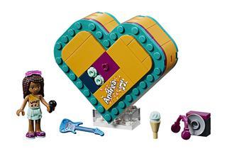 LEGO 41354 - LEGO Friends - Andrea szív alakú doboza