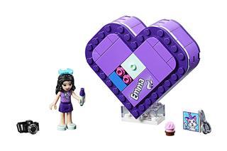 LEGO 41355 - LEGO Friends - Emma szív alakú doboza