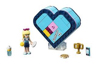 LEGO 41356 - LEGO Friends - Stephanie szív alakú doboza