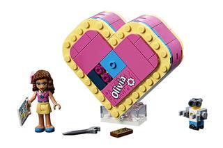 LEGO 41357 - LEGO Friends - Olivia szív alakú doboza