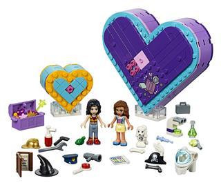 LEGO 41359 - LEGO Friends - A barátság Szív alakú doboza