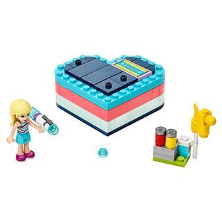 LEGO 41386 - LEGO Friends - Stephanie nyári szív alakú doboza