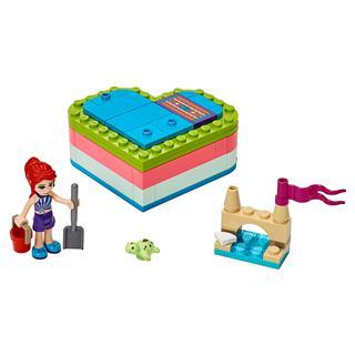 LEGO 41388 - LEGO Friends - Mia nyári szív alakú doboza