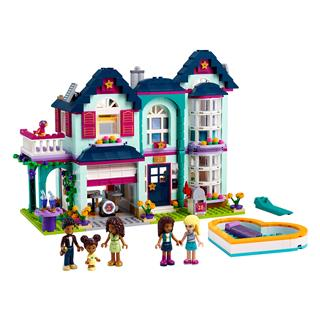 LEGO 41449 - LEGO Friends - Andrea családi háza