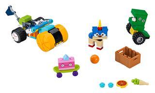 LEGO 41452 - LEGO Unikitty - Puppycorn™ herceg háromkerekűje