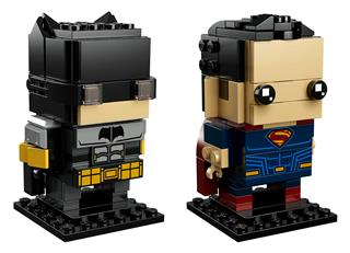LEGO 41610 - LEGO Brickheadz - Tactical Batman és Superman