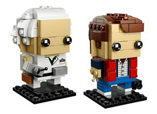 LEGO 41611 - LEGO Brickheadz - Marty McFly és Doctor Brown