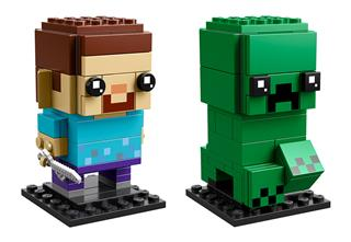 LEGO 41612 - LEGO Brickheadz - Steve és Creeper