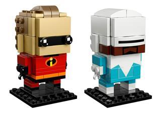 LEGO 41613 - LEGO Brickheadz - Mr Irdatlan és Fridzsiman
