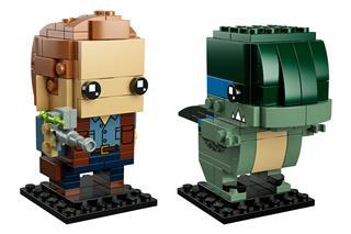 LEGO 41614 - LEGO Brickheadz - Owen és Blue