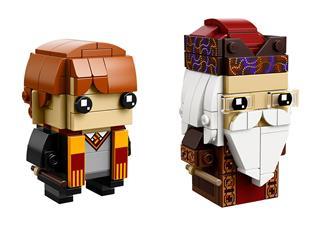LEGO 41621 - LEGO Brickheadz - Ron Weasley és Albus Dumbledore