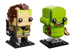 LEGO 41622 - LEGO Brickheadz - Peter Venkman és Nyálka