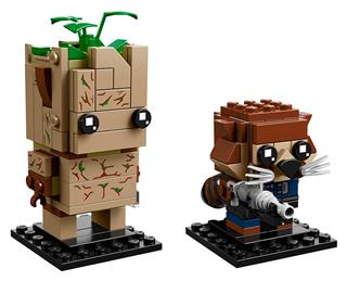 LEGO 41626 - LEGO Brickheadz - Groot és Rocket