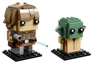 LEGO 41627 - LEGO Brickheadz - Luke Skywalker és Yoda