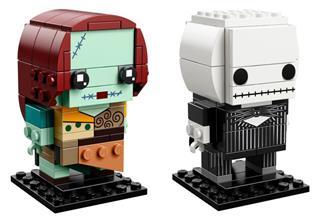 LEGO 41630 - LEGO Brickheadz - Rosszcsont Jack és Sally