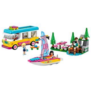 LEGO 41681 - LEGO Friends - Erdei lakóautó és vitorlás