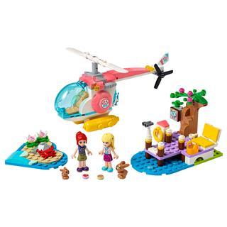 LEGO 41692 - LEGO Friends - Állatklinikai mentőhelikopter