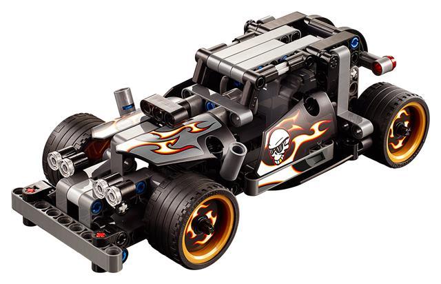 LEGO 42046 - LEGO Technic - Menekülő versenyautó