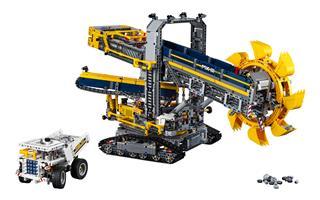 LEGO 42055 - LEGO Technic - Lapátkerekes kotrógép