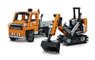 LEGO 42060 - LEGO Technic - Útépítő gépek