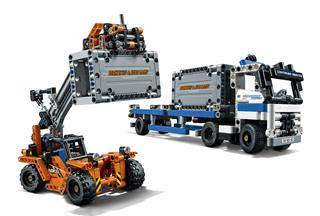 LEGO 42062 - LEGO Technic - Konténerszállító