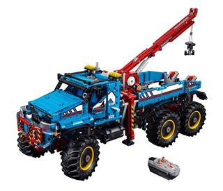 LEGO 42070 - LEGO Technic - 6x6-os terepjáró vontató